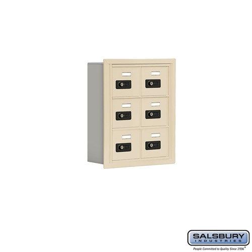 Salsbury Cell Phone Storage Locker - 3 Door High Unit  - 19035-06ARC