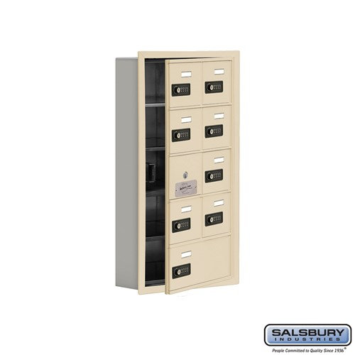 Salsbury Cell Phone Storage Locker - with Front Access - 19155-09ARC