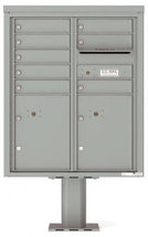 versatile 4CADD-08-P 4CFL Front-loading Mailbox