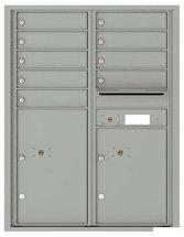 versatile 4C11D-09-SM 4CFL Front-loading Mailbox