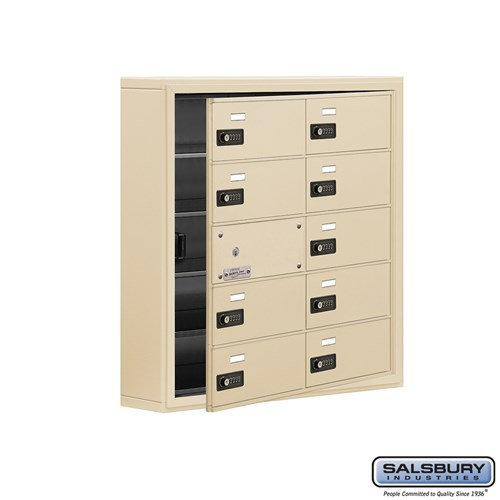 Salsbury Cell Phone Storage Locker - with Front Access - 19155-10ASC