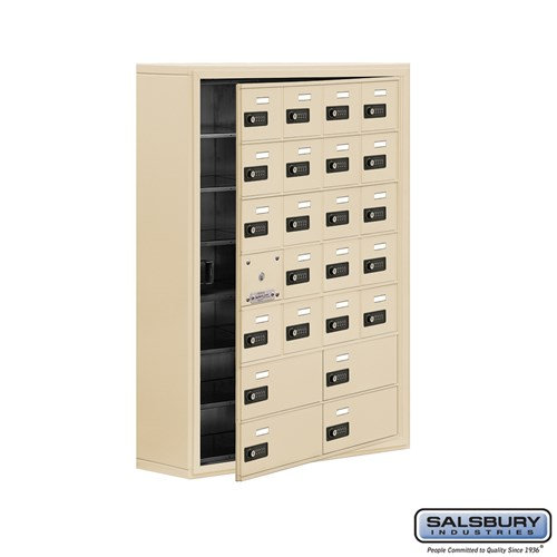 Salsbury Cell Phone Storage Locker - with Front Access - 19178-24ASC