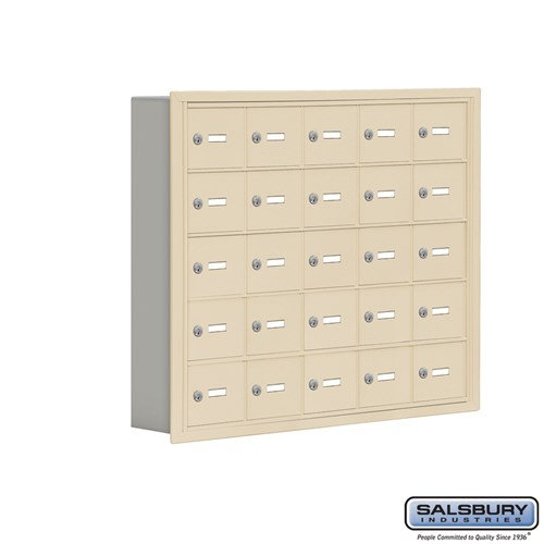 Salsbury Cell Phone Storage Locker - 5 Door High Unit  - 19055-25ARK
