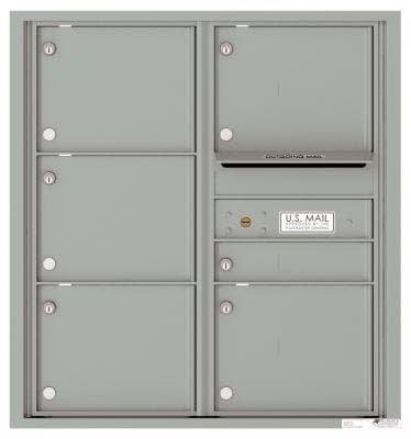 versatile 4C09D-06-SM 4CFL Front-loading Mailbox