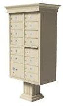 vital 1570-13V Cluster Box Unit Mailbox