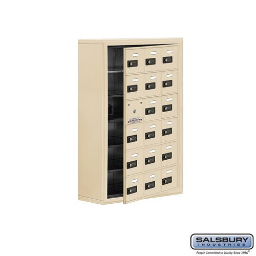 Salsbury Cell Phone Storage Locker - with Front Access - 19168-18ASC