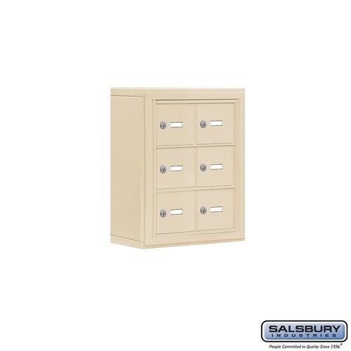 Salsbury Cell Phone Storage Locker - 3 Door High Unit  - 19035-06ZSK