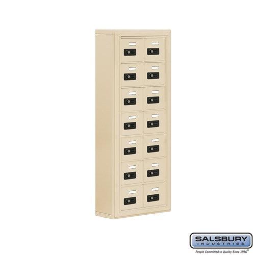 Salsbury Cell Phone Storage Locker - 7 Door High Unit  - 19075-14ASC