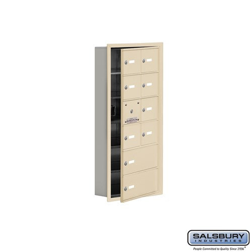 Salsbury Cell Phone Storage Locker - with Front Access - 19165-10ARK