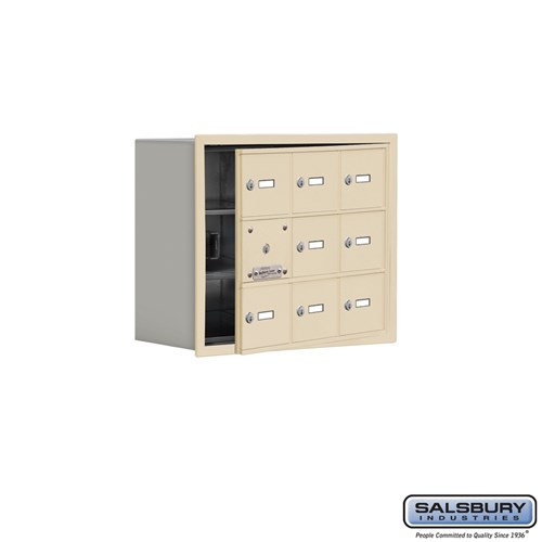 Salsbury Cell Phone Storage Locker - with Front Access - 19138-09ARK