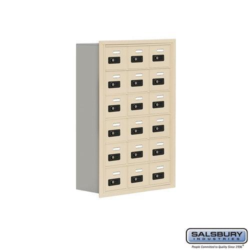 Salsbury Cell Phone Storage Locker - 6 Door High Unit  - 19068-18ARC