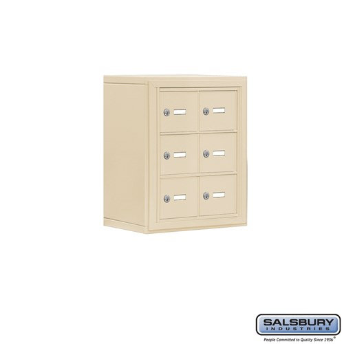 Salsbury Cell Phone Storage Locker - 3 Door High Unit  - 19038-06ASK
