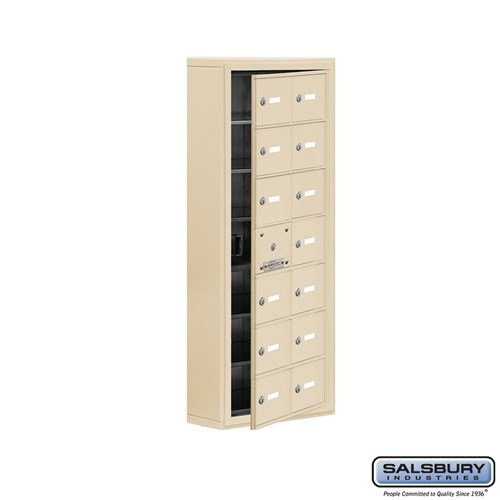 Salsbury Cell Phone Storage Locker - with Front Access - 19175-14ASK
