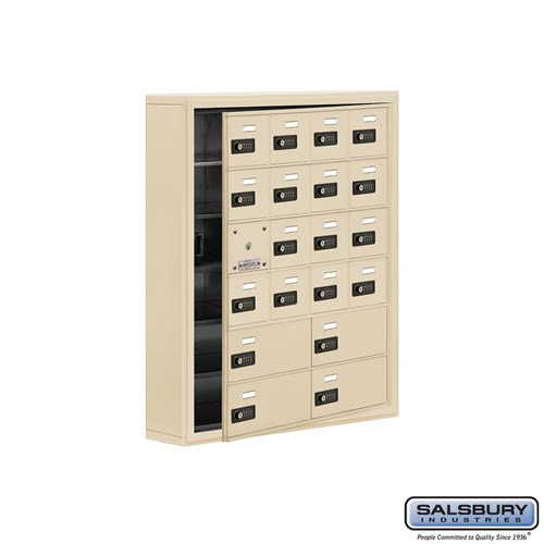 Salsbury Cell Phone Storage Locker - with Front Access - 19165-20ASC