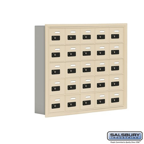 Salsbury Cell Phone Storage Locker - 5 Door High Unit  - 19055-25ZRC
