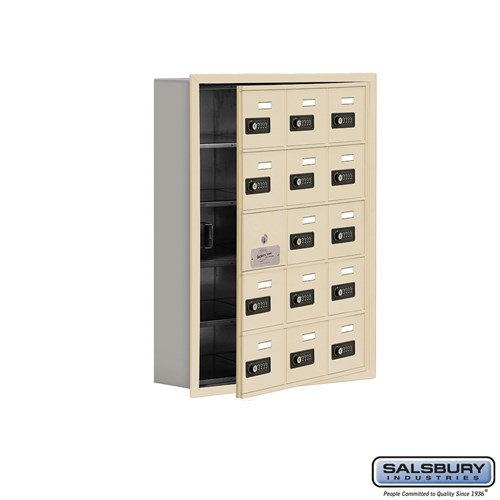 Salsbury Cell Phone Storage Locker - with Front Access - 19155-15ARC
