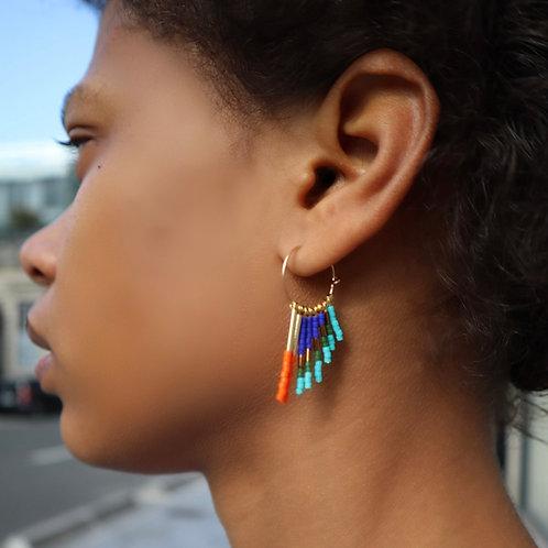 Boucles d'oreilles BAI