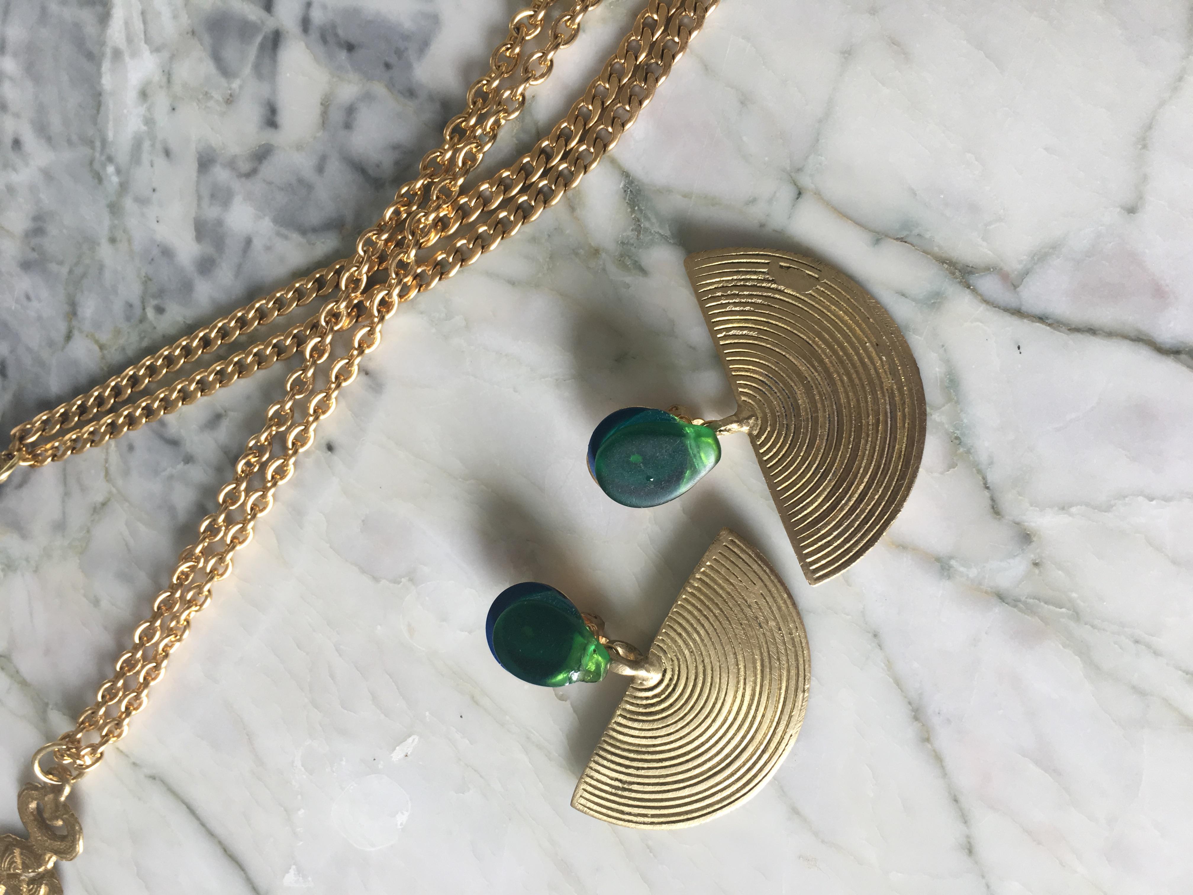 Boucles LUNA en bronze