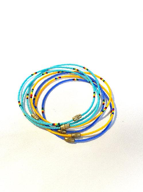 Bracelet perles fines