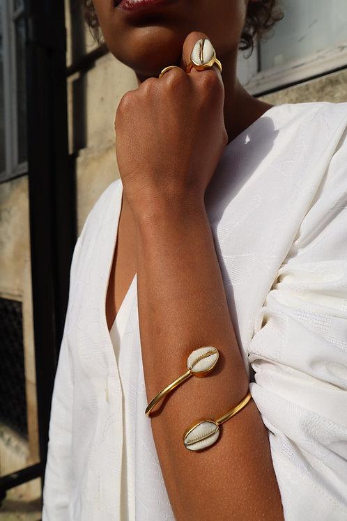 Bracelet Malia croisé fin