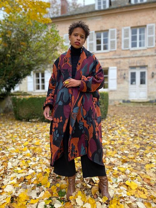 Manteau Adèle Automnal color