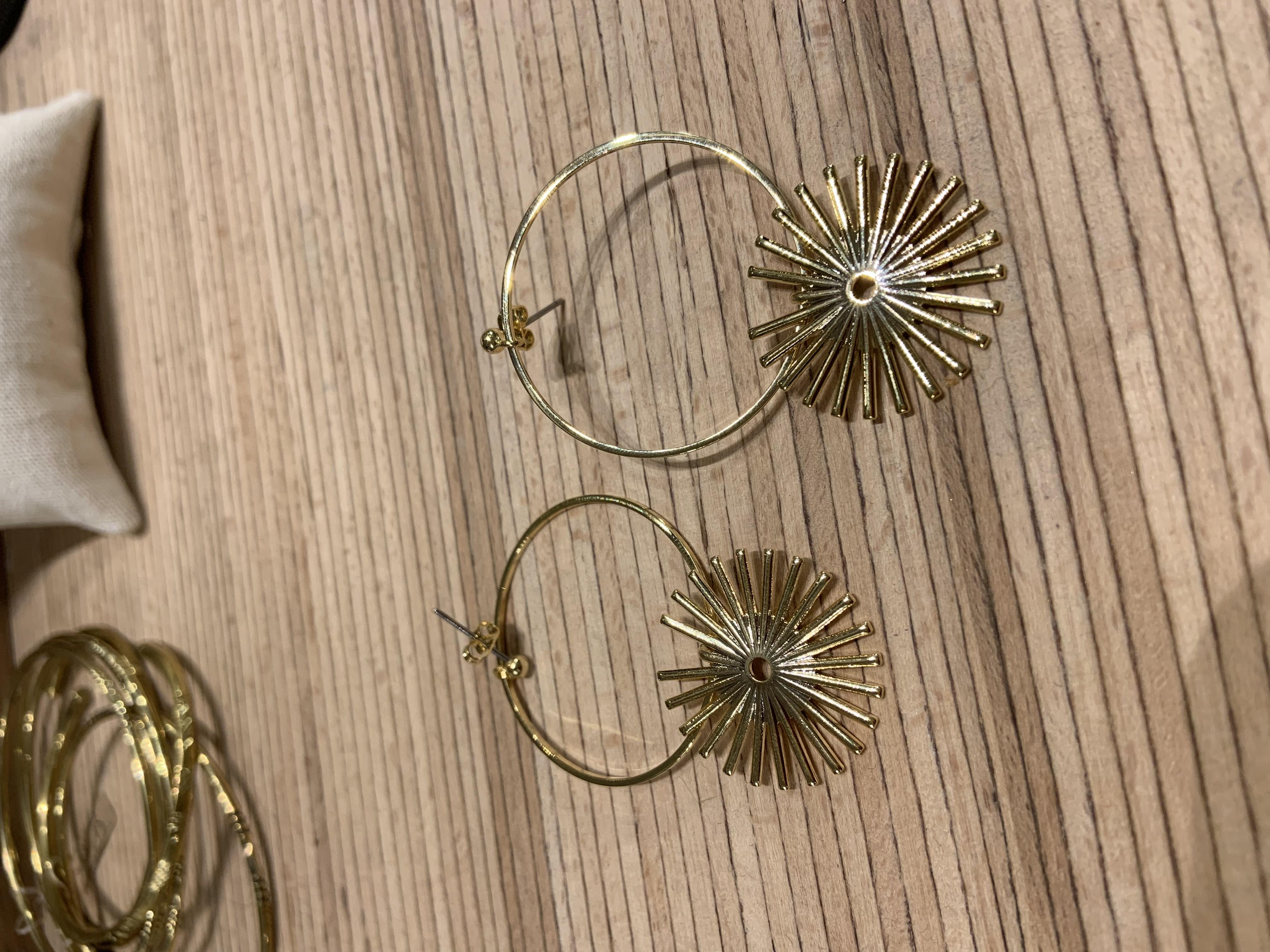 Boucles sunflower simple