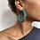 Thumbnail: Créoles NIKITA «blue spirit»