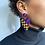Thumbnail: boucles KIRA triangle