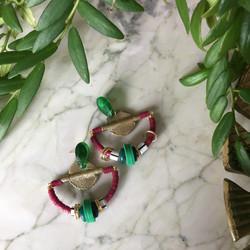 Boucles CHLOÉ Fuchsia