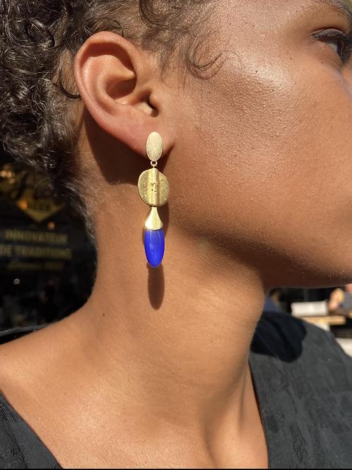 Boucles d'oreilles Agate