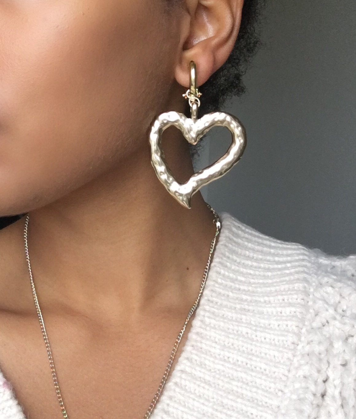 Boucles d'oreilles Attrape Coeur