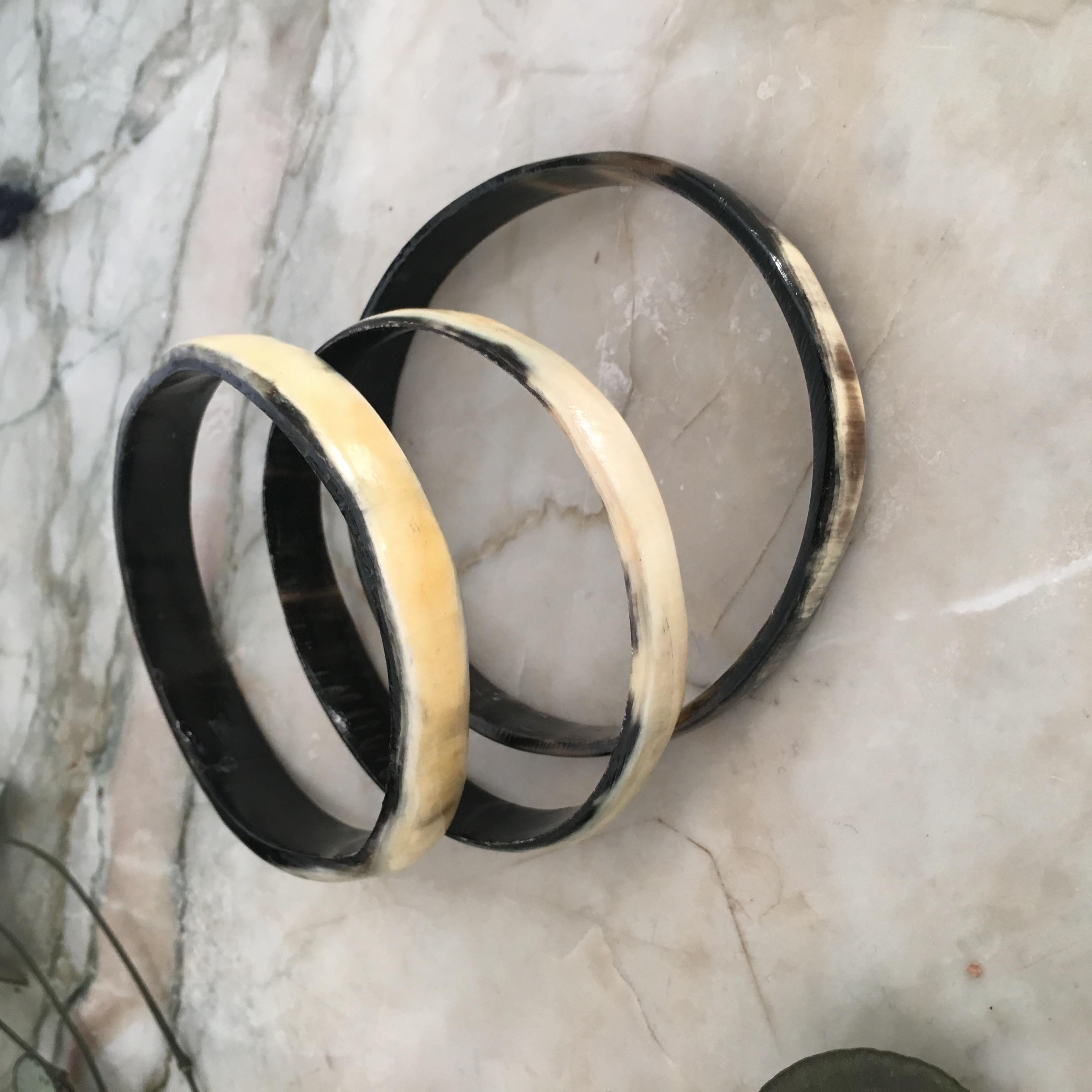 Bracelets corne