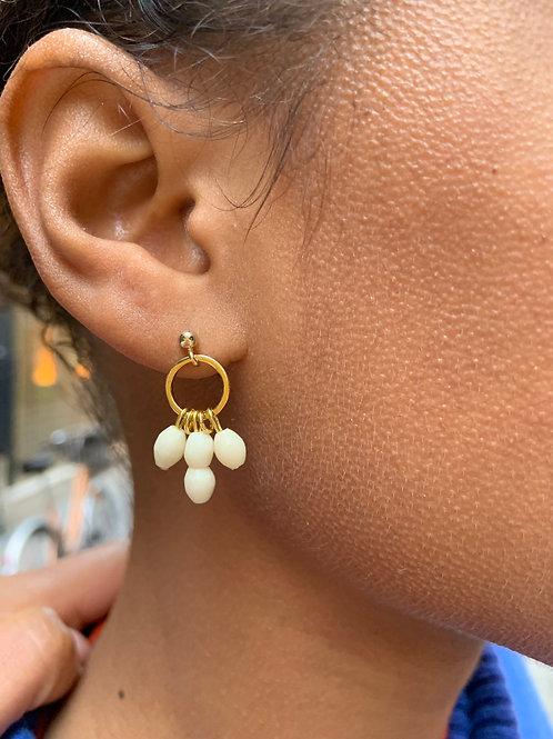 Boucles d'oreilles Blanca