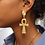 Thumbnail: Boucles croix d'Ânkh