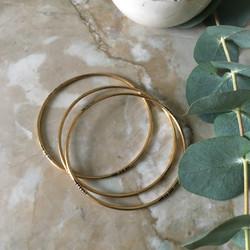 Bracelets fin en bronze