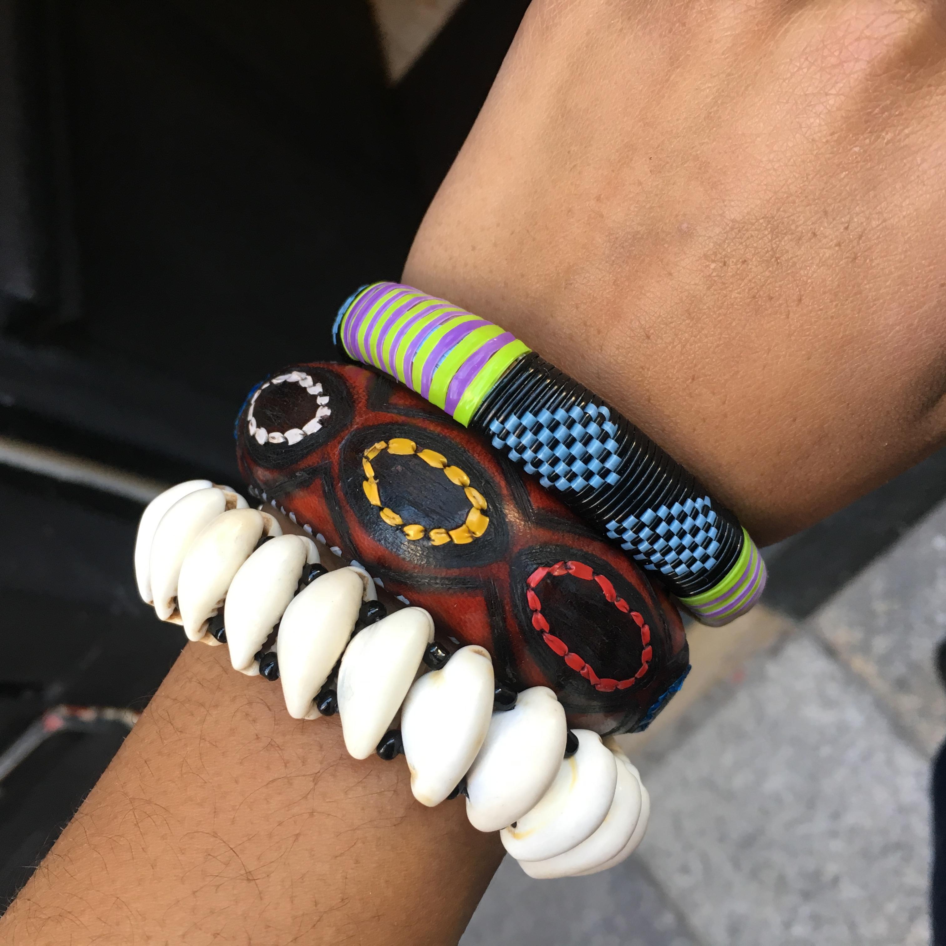 Bracelets africains