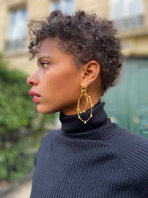 Boucles d'oreilles Naja