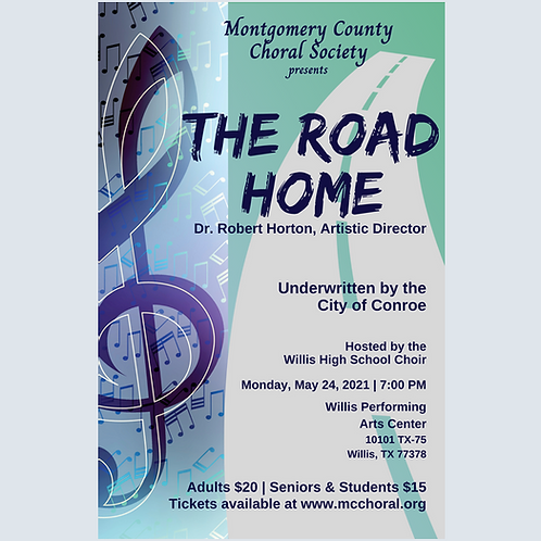 The Road Home Concert Ticket