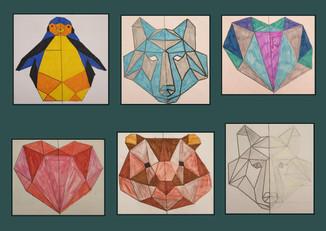 Animaux géométriques