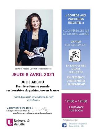 Conférence de Julie Abbou