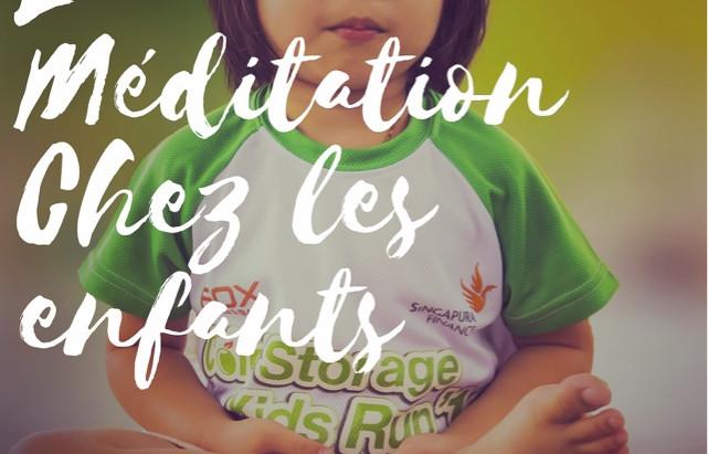 La méditation chez les enfants