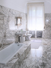 marble bathroom at first floor