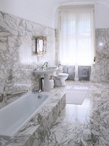marble bathroom at first floor