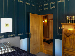 the blue room at first floor