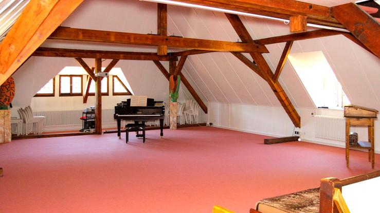 Attica Room with Concert Piano
