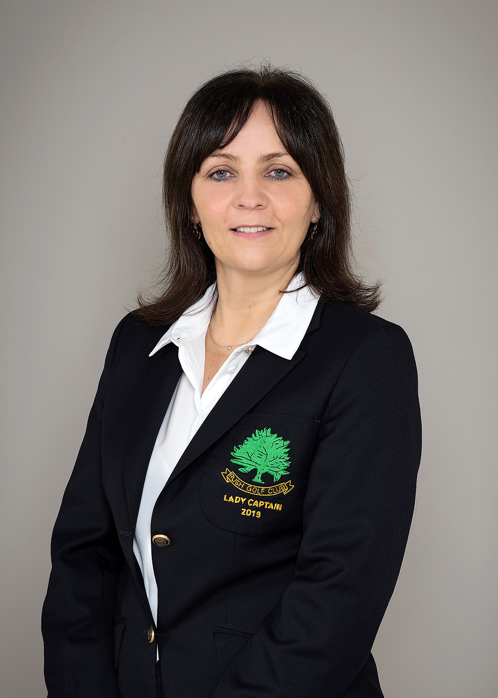 Linda Nugent - Rush golf Club Lady Captain 2019