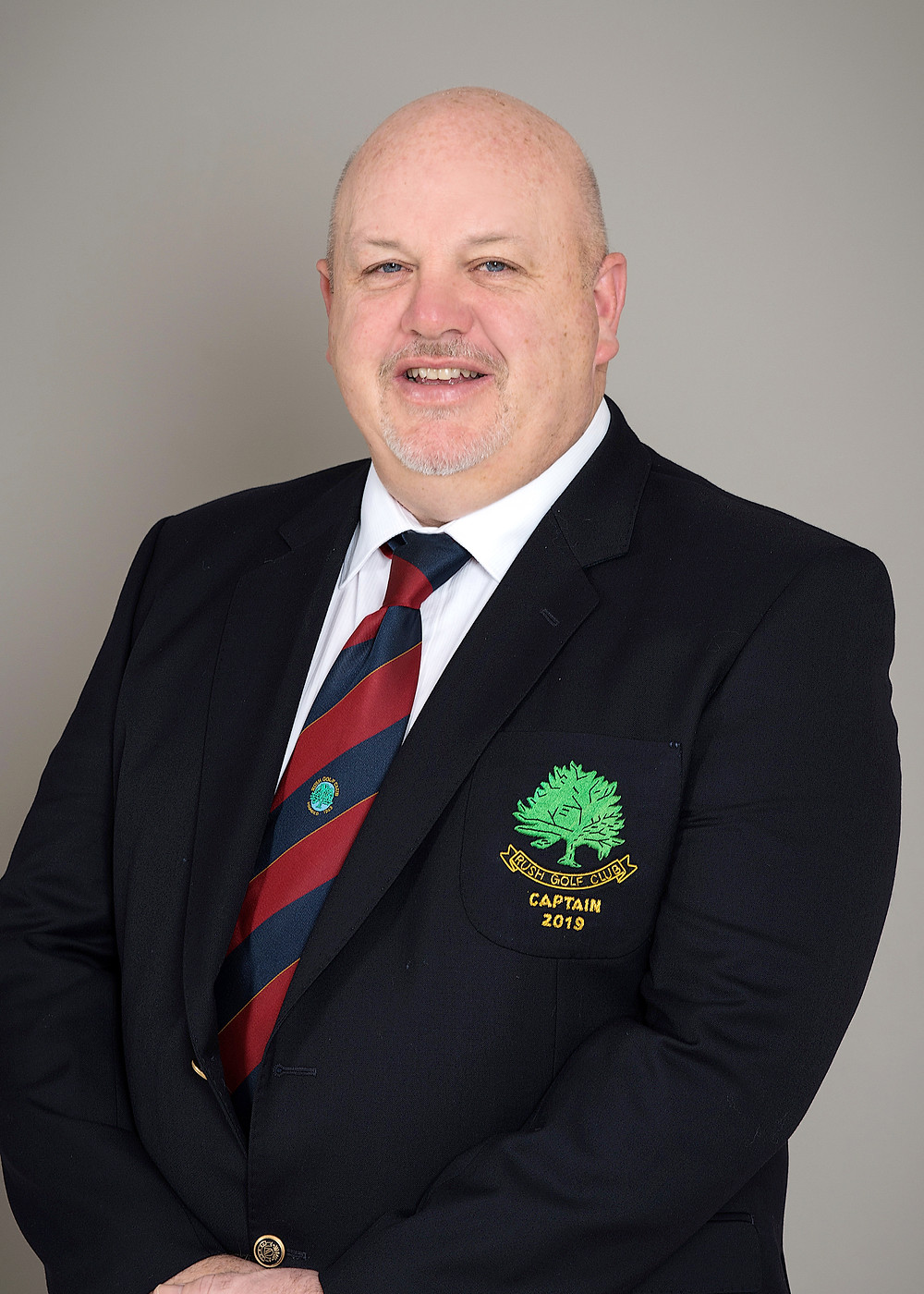 Alan Nugent - Rush Golf Club Captain 2019