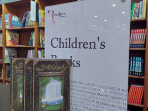 The Book of Astoriya is at Readers Bookstore in Amman, Jordan!