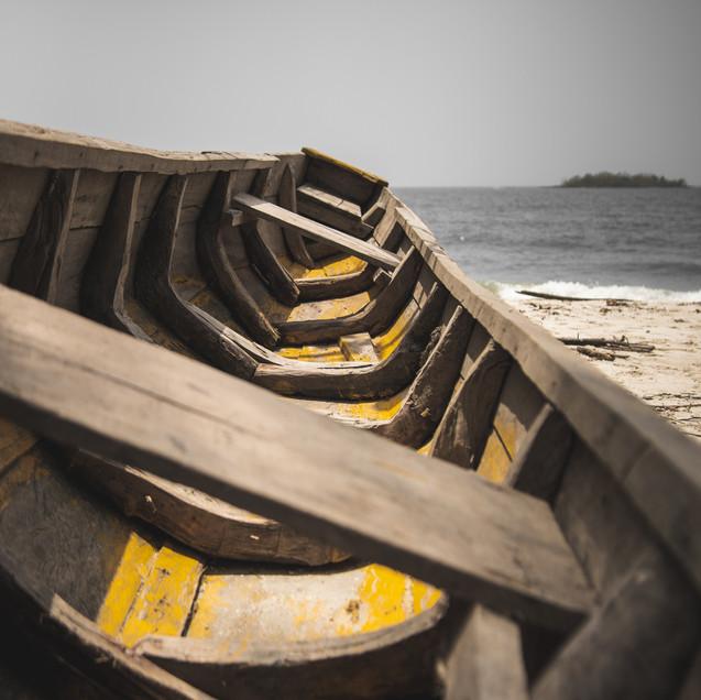 Tokeh beach, Sierra Leone