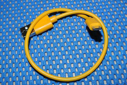 30cm Micro USB Yellow